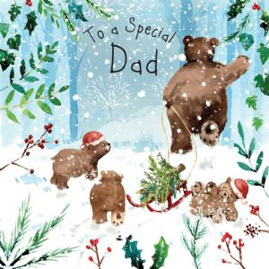 WF15 - Merry Christmas Card for Dad
